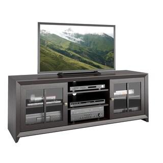 CorLiving TEH-504-B Carlisle Mocha Black TV Bench