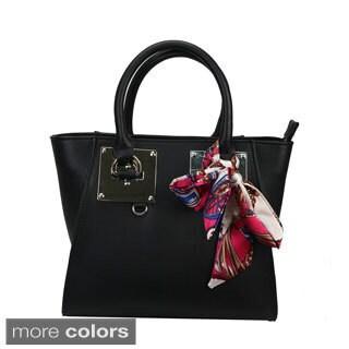 Mllecoco Genuine Leather Scarf Wrap Handbag