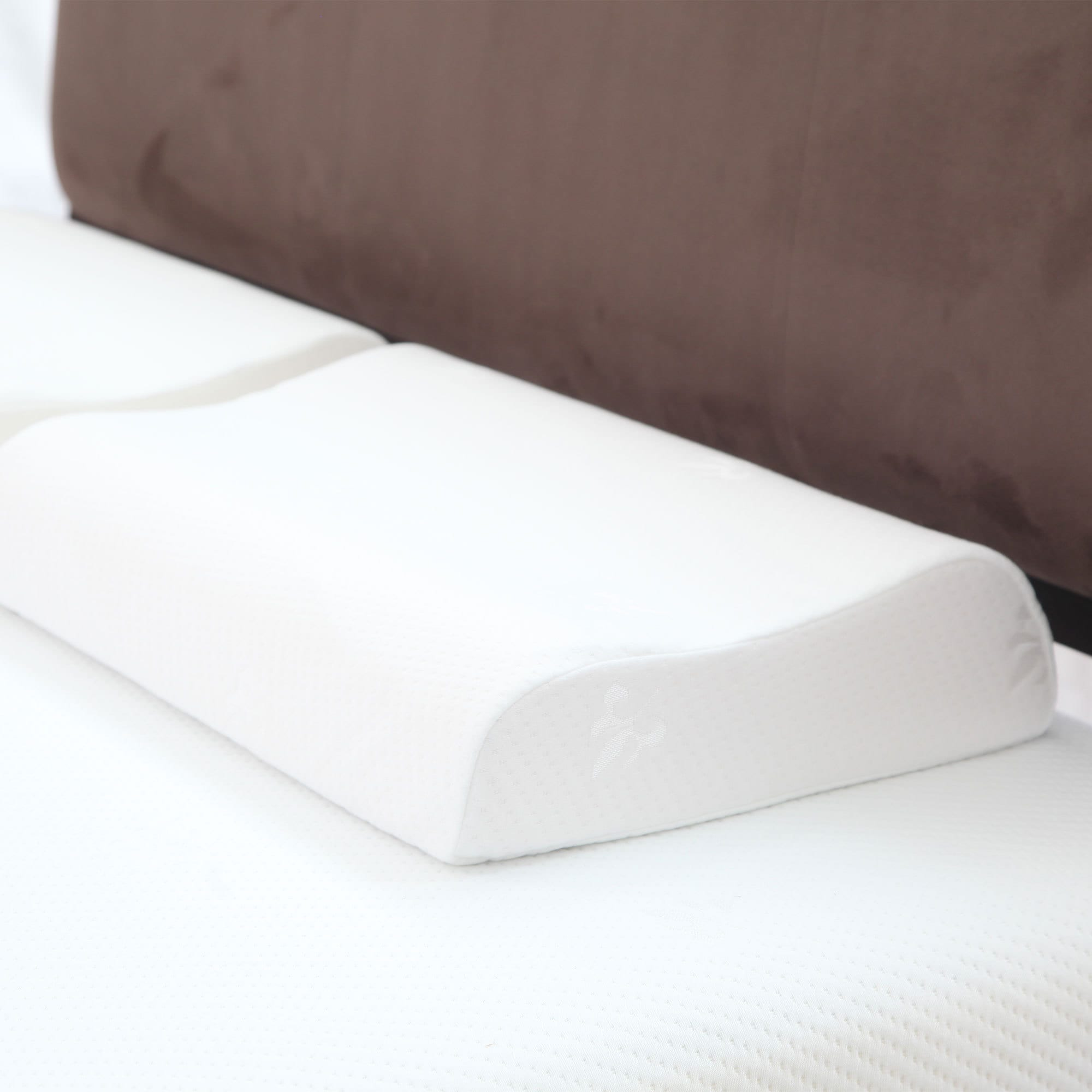 Trademark Windsor Home Contour Memory Foam Pillow with Re...