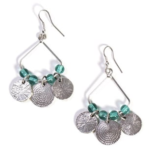 Turquoise Market Dangle Earrings (India)