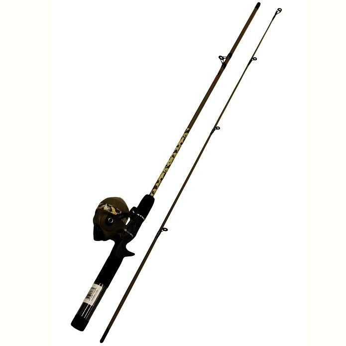 Duck Dynasty Spincast Combo Fishing Rod-Zebco-Brand New