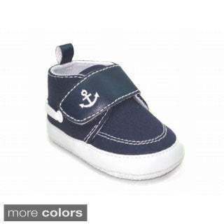 Blue Baby 'P-Anchor' Shoes