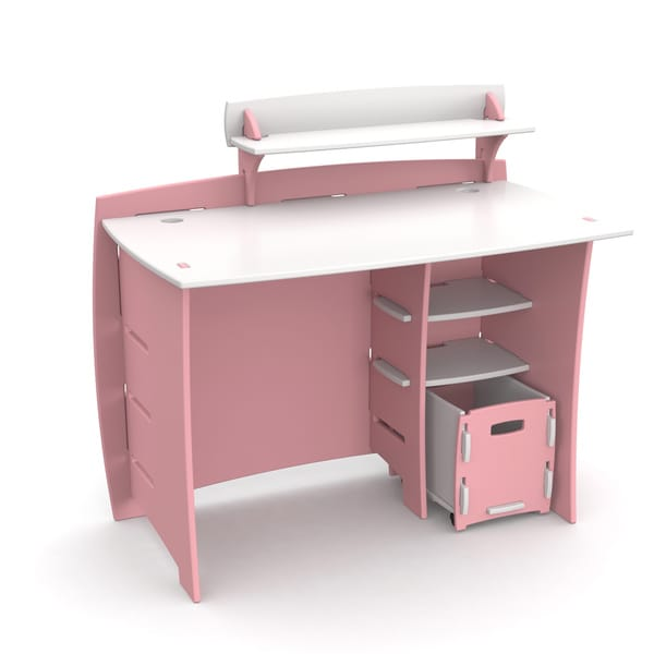 Legare Kids Furniture Pink/ White 43 by Legare