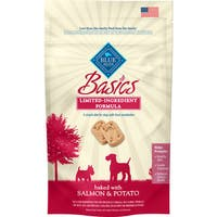 Blue Buffalo Basics Limited Ingredient Salmon and Potato Biscuits