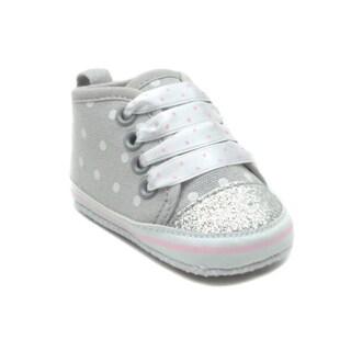 Blue Baby 'P-Trixie' Polka Dot Shoes