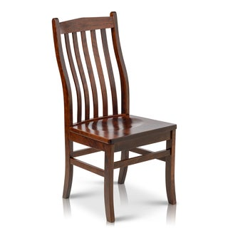 Somette Solid Maple Wood Side Chairs (Set of 2)