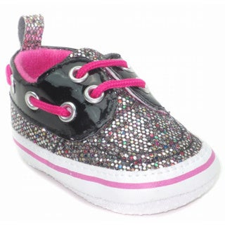 Blue Baby 'P-Dancer' Dancer Glitter Shoes
