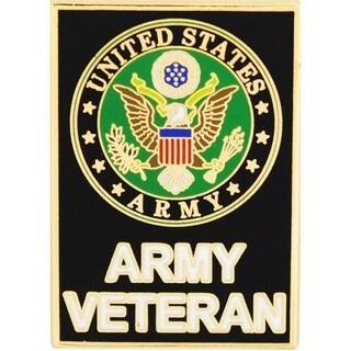 US Army Veteran Large Pin