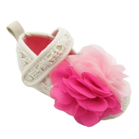 Blue Baby Doil Flower Shoes