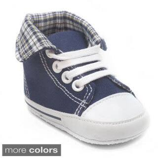 Blue Baby 'P-Gate' Lace-up Boat Shoes|https://ak1.ostkcdn.com/images/products/10152085/P17281552.jpg?impolicy=medium
