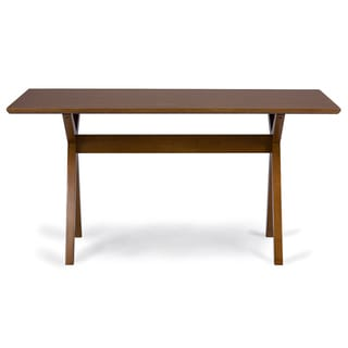 Baxton Studio Lucas Mid-century Style 'Walnut' Brown Dining Table