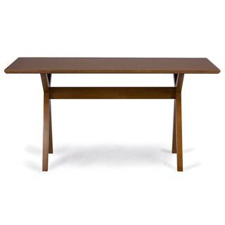 Baxton Studio Lucas Mid-century Style 'Walnut' Brown Dining Table