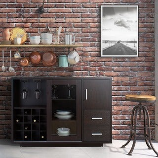 Link to Furniture of America Diz Modern 47-inch Wine Bar Dining Server Similar Items in Home Bars