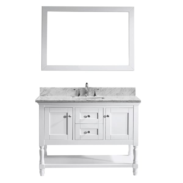 Virtu USA Julianna 48-inch Single Bathroom Vanity Cabinet Set in ...