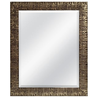 Rugged Gold Wall Mirror