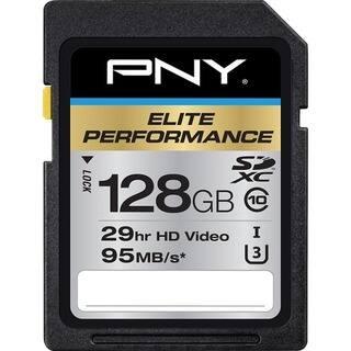 PNY Elite Performance 128 GB Class 10/UHS-I (U3) SDXC