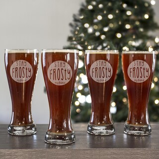 Stay Frosty My Friend Pilsners (Set of 4)