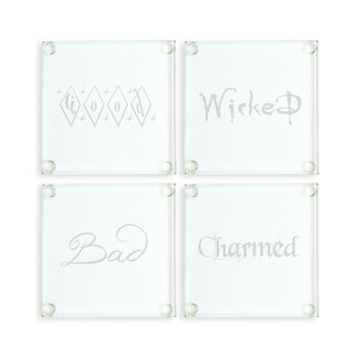 Witchy Woman Glass Coasters