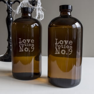 Love Potion No. 9 Bullet Growlers (Set of 2)