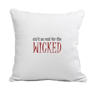 Witchy Woman Polyester 12-inch Throw Pillow