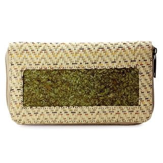 Handcrafted Natural Fibers 'Mexican Fanfare' Wallet (Mexico)