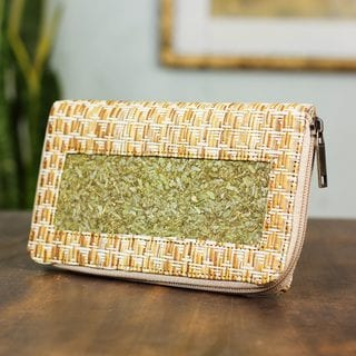 Handcrafted Natural Fibers 'Mexican Nature' Wallet (Mexico)
