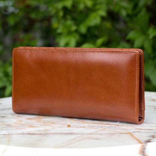 Handmade Leather 'Versatile Brown' Wallet (Thailand)