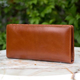 Handmade Leather 'Versatile Brown' Wallet (Thailand)