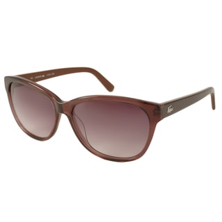 Lacoste Womens L704S Rectangular Sunglasses