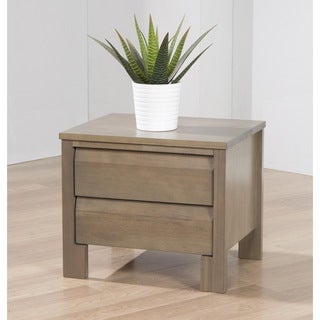 Alsa Grey 2-drawer Nightstand