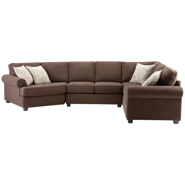 Art van laf armless corner sectional sofa free shipping for Sectional sofa art van