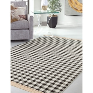 Greyson Living Abbington Brown Area Rug (5'3 x 7'6)