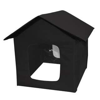 Black Nylon Pet House