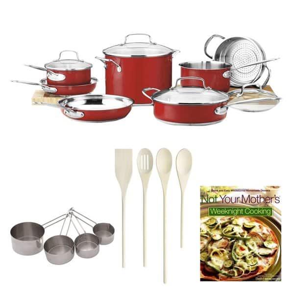 Shop Cuisinart Chef\'s Classic Color Series 11-piece Kitchen ...