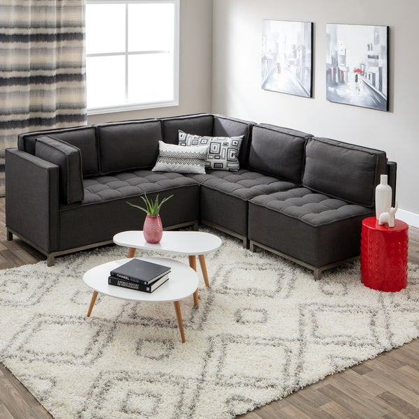Ink+Ivy Grant Modular Sectional   Free Shipping Today   Overstock.com    80008370