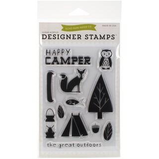 Echo Park Stamps 4inX6inHappy Camper