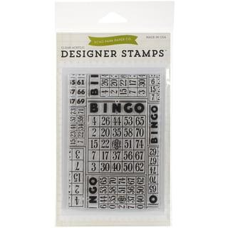 Echo Park Stamps 4inX6inBingo Cards