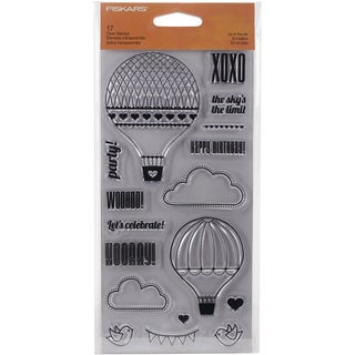 Fiskars Clear Stamp 4inX8inUp In The Air