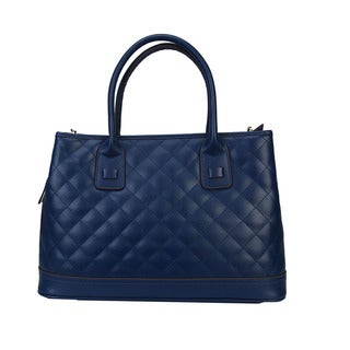 Mllecoco Genuine Leather Quilted Texture Fashion Genuine Leather Tote Bag