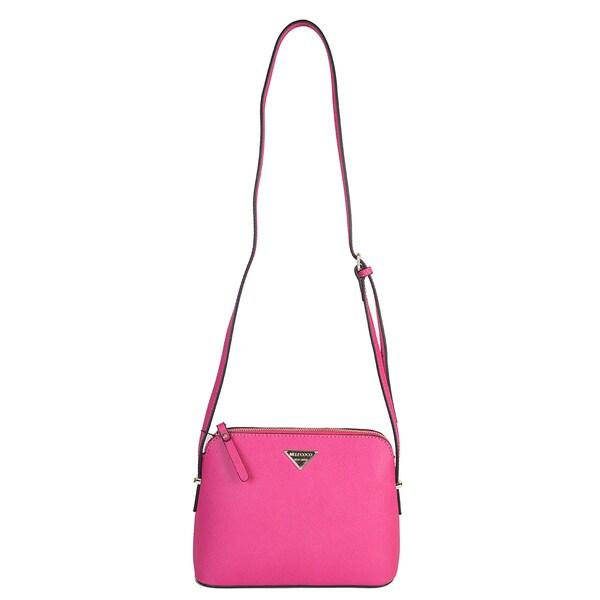 Mllecoco Genuine Leather Signature Crossbody Handbag - M