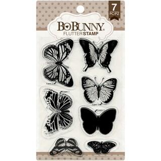 BoBunny Stamps 4inX6inFlutter