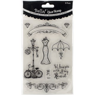 Bella! Wedding Clear Stamps