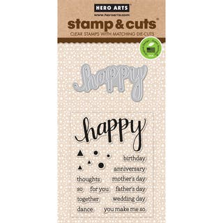 Hero Arts Stamp & CutsHappy|https://ak1.ostkcdn.com/images/products/10155392/P17284912.jpg?impolicy=medium