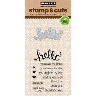 Hero Arts Stamp & CutsHello
