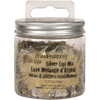 Stampendous Micas & Glitters Lux Mix W/Hang Tap 1.5ozSilver