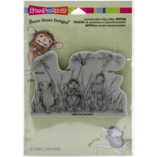 Stampendous House Mouse Cling Rubber Stamp 4.5inx5.5in Sheet Dragonfly Kites
