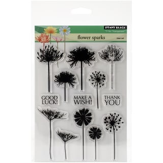 Penny Black Clear Stamps 5inX6.5in SheetFlower Sparks