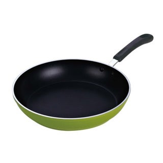 Cook N Home 12-inch Nonstick Frying Pan/ Saute Pan, Induction Compatible Bottom, Green