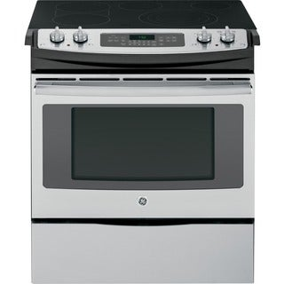 GE 30-inch Slide-In Convection Range