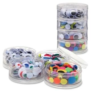 ChenilleKraft Stacking Jar Wiggle Eyes (Pack of 400)